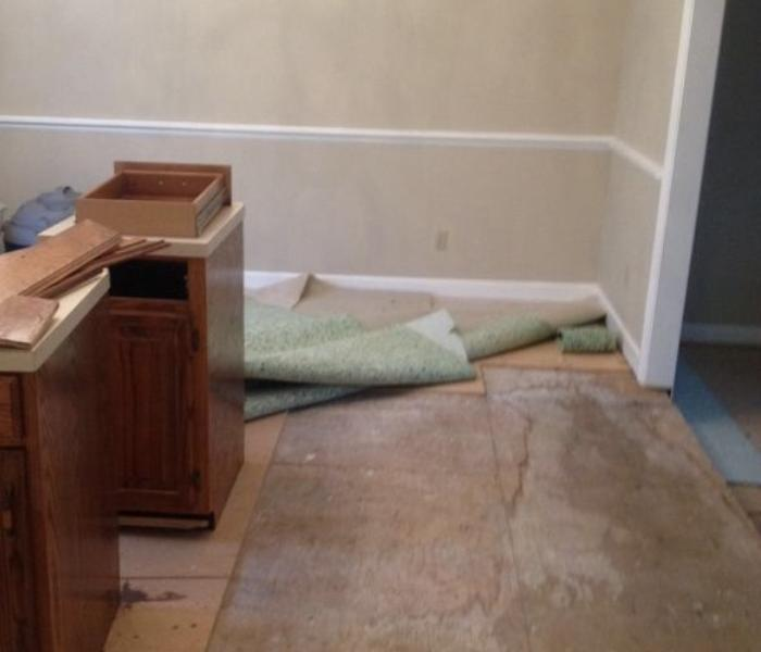 Nashville Water damage to Residential Home After