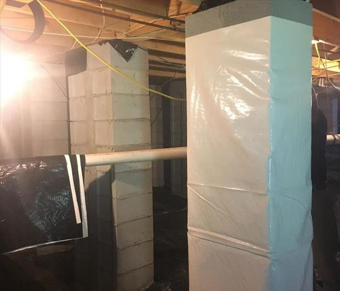 Watertown Crawlspace Encapsulation Provides a Permanent Solution to Dampness Before