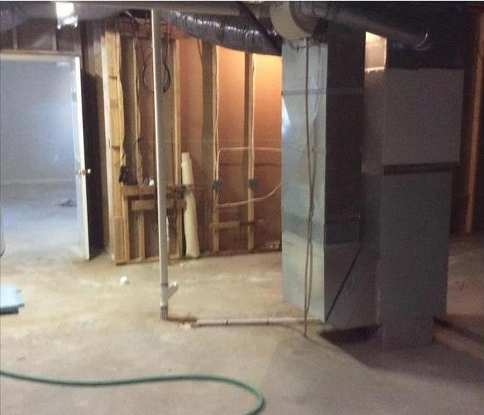 Mt. Juliet Storm Soaked Basement After