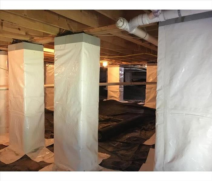 Watertown Crawlspace Encapsulation Provides a Permanent Solution to Dampness After