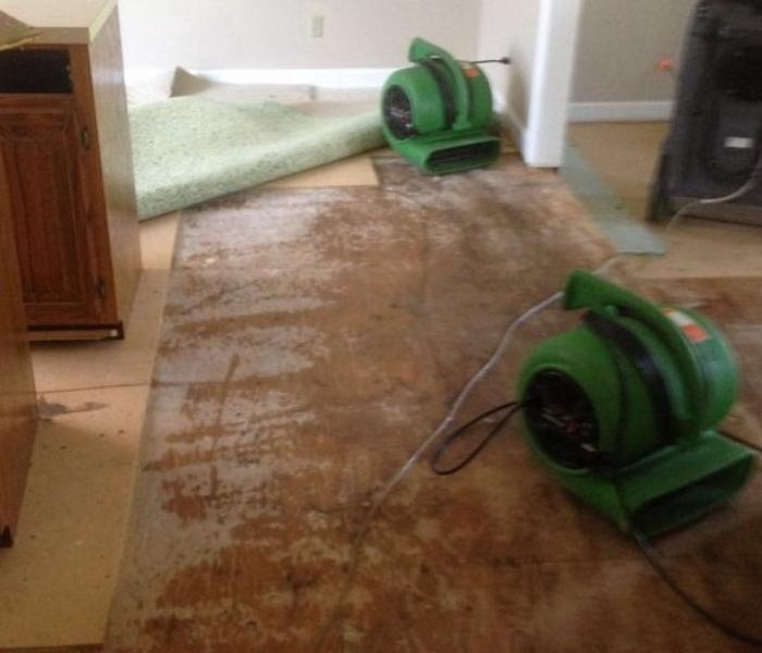 Nashville Water damage to Residential Home Before