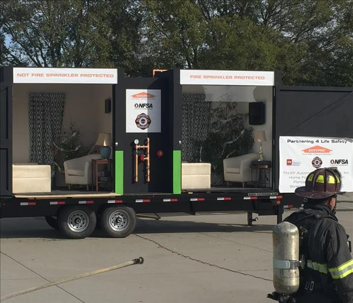 Burn Boxes, CE Classes and SERVPRO