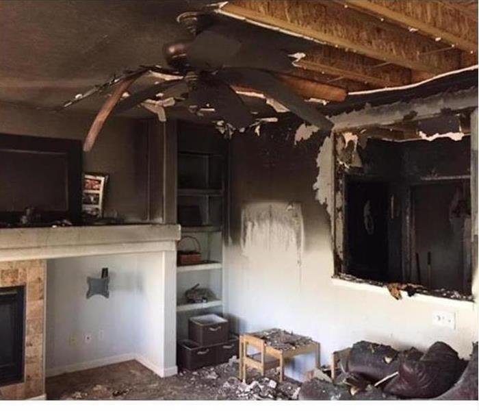 Fire Damage – Mount Juliet Home