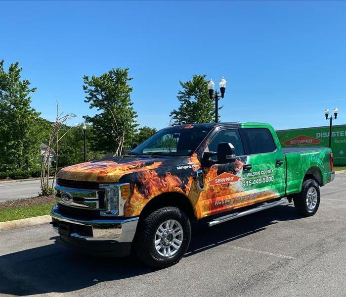 SERVPRO of Wilson County truck